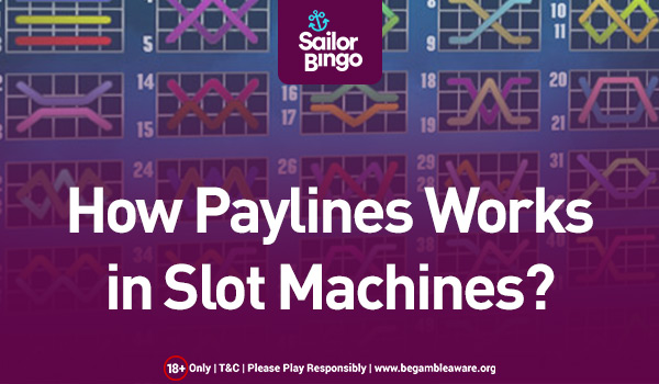 How Paylines Works in Slot Machines?