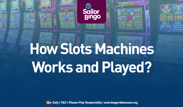 HOW SLOT MACHINES WORK AND PLAYED?