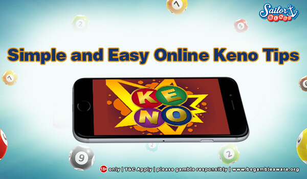 Simple and Easy Online Keno Tips image